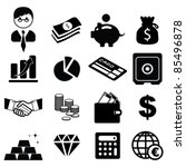 Set Of Finance   Banking Icons...