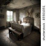 A Creepy Bedroom Scenery ...