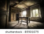 a creepy scenery  this old... | Shutterstock . vector #85501075