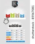 step panels | Shutterstock .eps vector #85567081