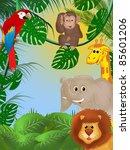 jungle | Shutterstock . vector #85601206