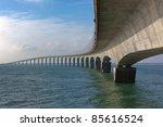 Curved Concrete Bridge Over Th...