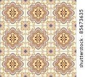 seamless ornament tile ceramics ...   Shutterstock .eps vector #85673635