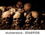 Human Skulls Inside Paris...