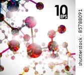 eps10  dna molecule  abstract...   Shutterstock .eps vector #85788091