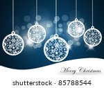 christmas background with... | Shutterstock . vector #85788544
