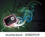 radio vector illustration | Shutterstock .eps vector #85805929