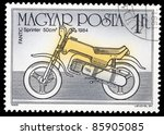 hungary   circa 1985  a stamp... | Shutterstock . vector #85905085
