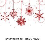 illustration with red... | Shutterstock .eps vector #85997029