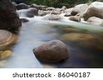 Pebbl Es Or Rocks In Creek Or...