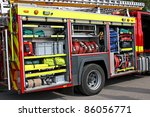 A Fire Engine With Rescue...