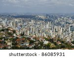 Belo Horizonte - aerial view - Brazil