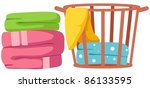background,basket,bath,bathroom,blue,clean,cloth,clothes,clothing,color,colorful,colour,container,cotton,decoration