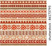 ornament border background of... | Shutterstock .eps vector #86173795