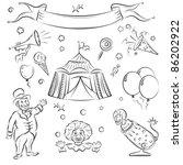 circus | Shutterstock .eps vector #86202922