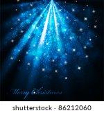 vector elegant christmas... | Shutterstock .eps vector #86212060