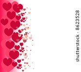 abstract hearts | Shutterstock .eps vector #8623528