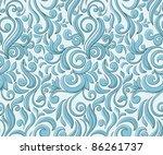 christmas seamless pattern...   Shutterstock .eps vector #86261737