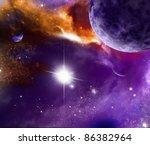 universe | Shutterstock . vector #86382964