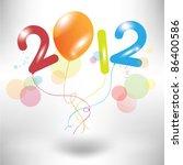 Creative Colorful Balloon 2012...