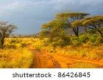 Landscape Of Samburu Before...