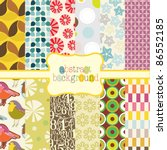 Set Of 12 Abstract Backgrounds