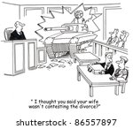 i thought you said your wife... | Shutterstock . vector #86557897