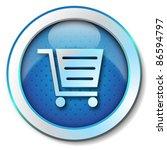 shopping cart icon | Shutterstock . vector #86594797
