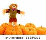 Harvest Border Of Pumpkins With ...