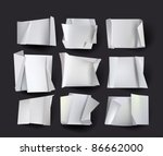 origami backgrounds | Shutterstock .eps vector #86662000