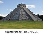 chichen itza in mexico   Shutterstock . vector #86679961