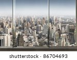 Panoramic View Of  Window And...