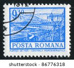 romania   circa 1972  stamp... | Shutterstock . vector #86776318