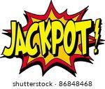 jackpot | Shutterstock .eps vector #86848468