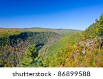 Grand Canyon Of Pa   View From...