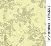 seamless floral pattern | Shutterstock . vector #86903239