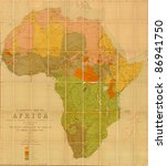 Language Map Of Africa ...