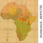 Language Map Of Africa ...