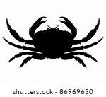 Crab Silhouette