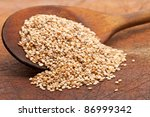 Organic Natural Sesame Seeds On ...