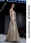 new york   october 16  model...   Shutterstock . vector #87007835