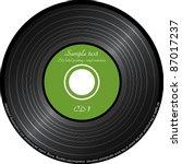 imitation vinyl