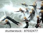 barcelona   oct  16 ... | Shutterstock . vector #87032477
