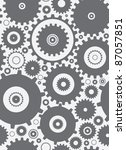 seamless cogs repeat pettern  ...   Shutterstock .eps vector #87057851