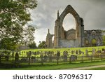 Ruins Of Bolton Abbey  North...