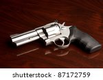 Clean .357 Revolver Laying On...