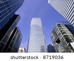 office buildings in canary wharf | Shutterstock . vector #8719036