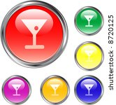 drink buttons | Shutterstock .eps vector #8720125