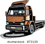 transportation truck. check my... | Shutterstock .eps vector #872120
