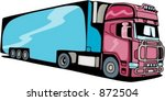 transportation truck. check my... | Shutterstock .eps vector #872504
